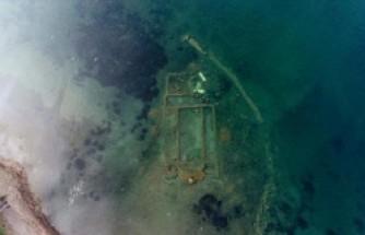 Sular çekilince - Gölün altındaki 1500 yıllık bazilika ortaya çıktı