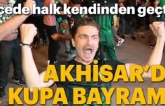 Akhisarspor - Fenerbahçe maçından müthiş kareler