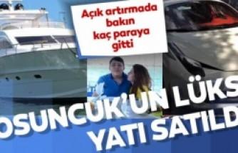 Tosuncuk'un lüks yatı açık arttırmayla 234 bin dolara satıldı