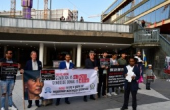 İsveç'te, Arakanlı Müslümanların katledilmesi protesto edildi