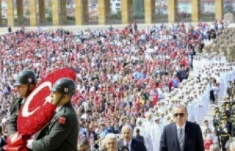 Türkiye'de 30 Ağustos coşkusu