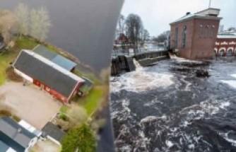 İsveç'in su taşkınlarıyla başı dertte