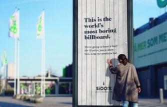 Dünyanın en sıkıcı billboard'u İsveç'te