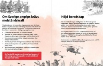 İsveç'te 4.8 milyon eve savaş uyarısı
