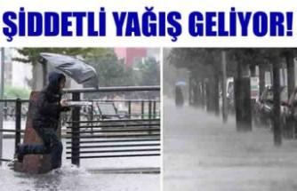 İsveç'te şiddetli yağış uyarısı
