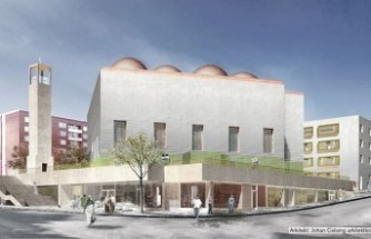 Rinkeby'e dev cami yapılıyor