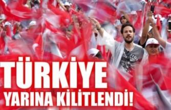 Türkiye yarına kilitlendi! Milyonlar sandık başına gidiyor
