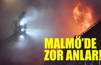 Malmö'de 45 kişi canını son anda kurtardı