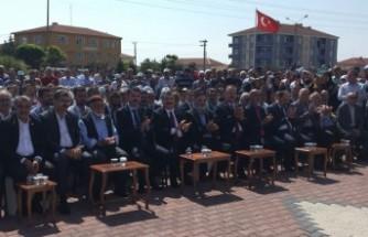 Bakanlar Kulu'da cami açılışına katıldı