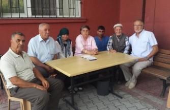 Kulu'da Yaşlı Yaşam Merkezi Sakinlerine İsveç'ten Ziyaret