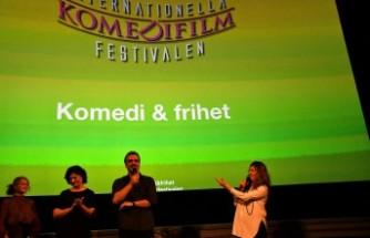 "İsveç'te ""Ay lav yu "" filmi gösterildi"