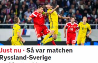 Rusya, İsveç yenişemedi