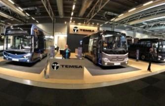 Türk Firması  Temsa 3 aracıyla İsveç'te tanıtıldı