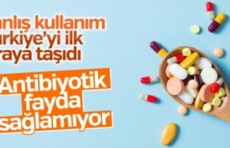 Antibiyotikler Türklere etki etmiyor