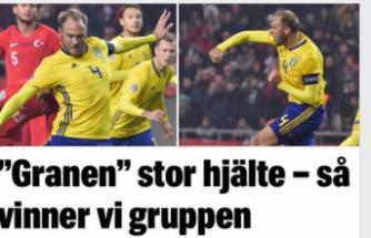 İsveç 'te Granqvist Kahraman İlan edildi