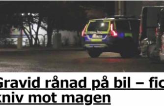 İsveç'te hamile kadına alçakça saldırı