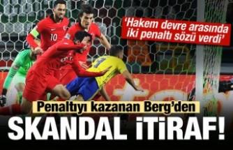 İsveç'ten Skandal itiraf! 'Hakem penaltı sözü verdi'