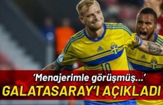 İsveçli golcü Guidetti'den Galatasaray açıklaması