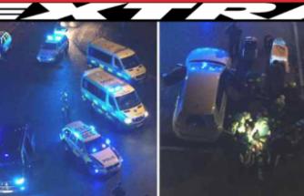 Stockholm'de iki kişi vuruldu