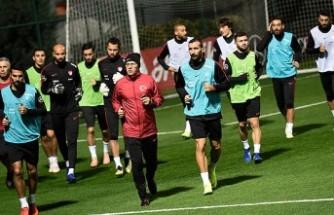 Türkiye A Milli Futbol Takımı'nda İsveç mesaisi başladı