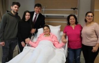 Almanya'da 'Ölür'' dediler, Türkiye'de doktorlar kurtardı