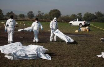 Boru hattı patlamasında ölü sayısı 66'ya yükseldi
