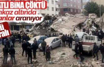 İstanbul'da 3 katı kaçak bina çöktü