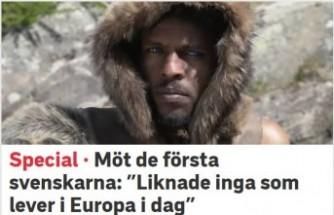 İsveç tartışıyor: Atalarımız siyah mı?