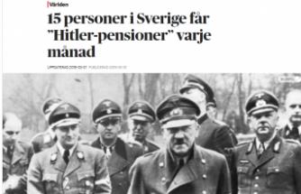 İsveç'ten  15 kişi her ay Hitler maaşı aldığı ortaya çıktı