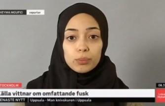 İsveç devlet televizyonunda ilk başörtülü muhabir