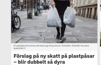 İsveç'te plastik torba fiyatları 7 krona çıkıyor