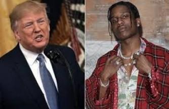 Trump, İsveç'ten ünlü rap şarkıcısının bırakılmasını istedi