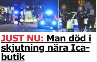 Stockholm'de bir kişi öldürüldü