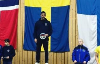 Türk genci İsveç'te İskandinavya şampiyonu oldu