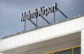Malmö Havaalanına izinsiz iniş yapan uçak kaza yaptı
