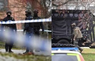 Sunbyberg'de bir evde silah sesleri - Polis özel ekiplerle operasyon düzenliyor