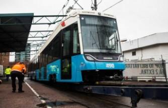 Göteborg'da kullanılacak yeni tramvay test sürüşüne başladı