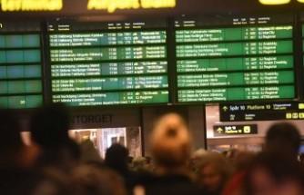 Göteborg - Stockholm arası trenler durdu