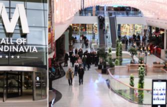İsveç'in en büyük Alışveriş Merkezi hırsızların buluşma noktası haline geldi