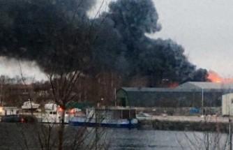İsveç'te büyük yangın! - Hala tam söndürülemedi