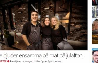 İsveç'te yaşayan Türk iş adamından fakir ve evsizlere ücretsiz yemek