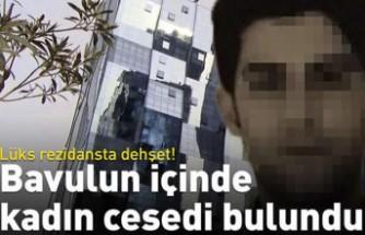 Lüks rezidansta bavul cinayeti