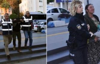18 suçtan 36 yıl hapis cezası bulunan karı-koca yakalandı