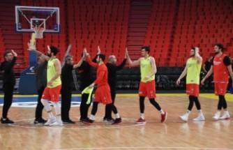A Milli Basketbol Takımı'nda İsveç maçı hazırlıkları