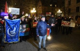 İsveç'te Hocalı Katliamı'nın 28. yılı yürüyüşü
