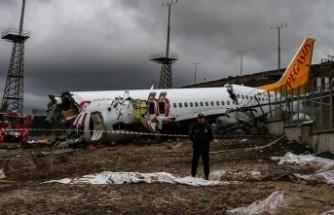 Kaza yapan Pegasus uçağının pilotunda beyin tümörü çıktı