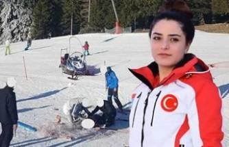 Milli kayakçı yarışma için gittiği Slovenya'da kahraman oldu!