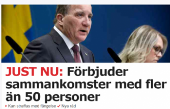 İsveç'te 50 kişinin bir araya gelmesi yasaklandı