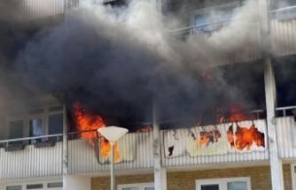 Malmö'de endişelendiren yangın