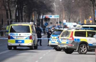 Stockholm'de silahlı saldırı bir kişi vuruldu